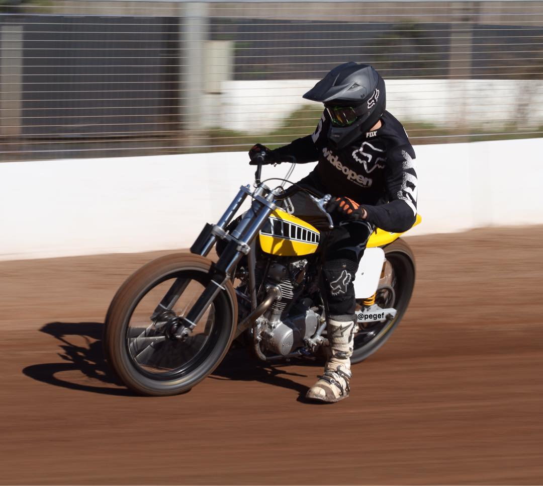 Kye Forte at Rye House track
